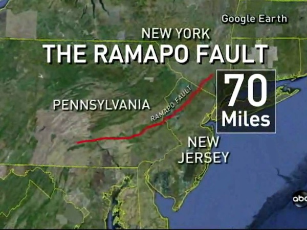 The Ramapo Fault Line